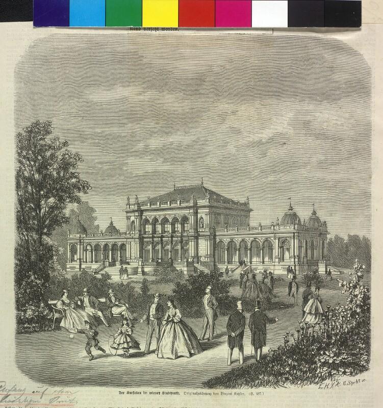 """""""Der Kursalon im wiener Stadtparke"""""""