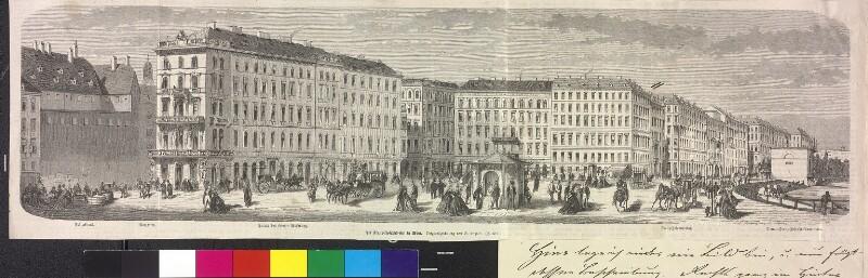 """""""Der Franz-Josephs-Kai in Wien"""""""