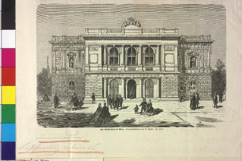 """Das Künstlerhaus in Wien"""