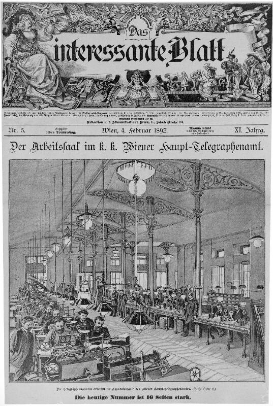 """Titelblatt """"Das Interessante Blatt"""""""