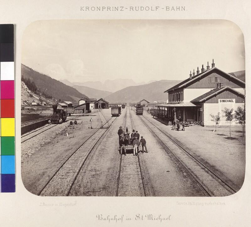Rudolfsbahn, Bahnhof St. Michael