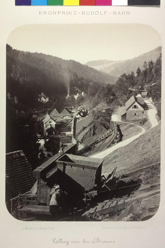 Bremsberg bei Lölling, Kärnten