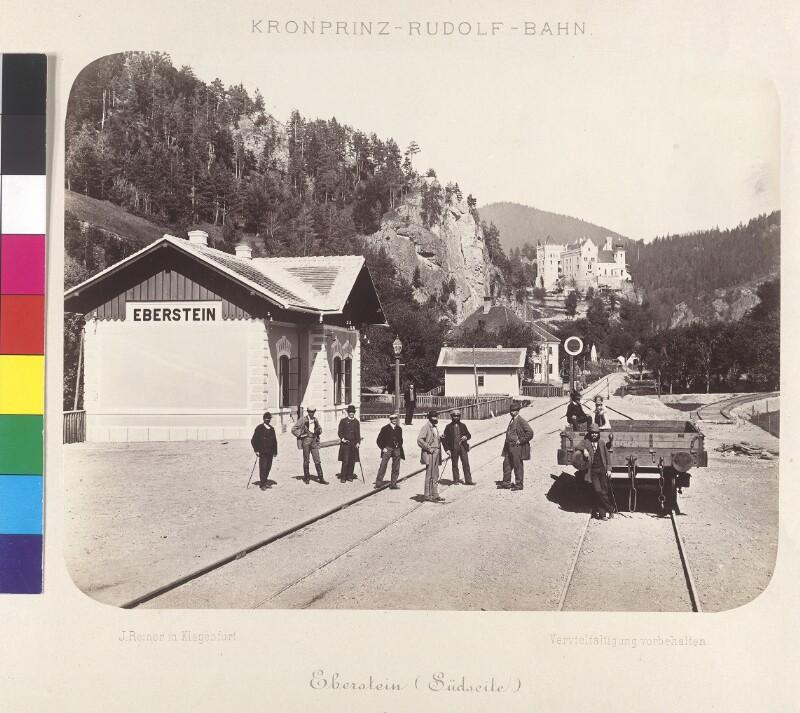 Rudolfsbahn, Bahnhof Eberstein