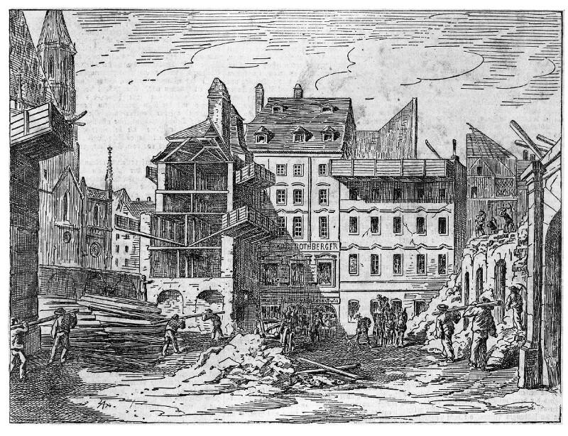 Wien 1, Brandstätte