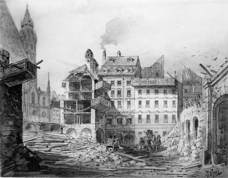 Wien 1, Brandstätte/Stephansplatz