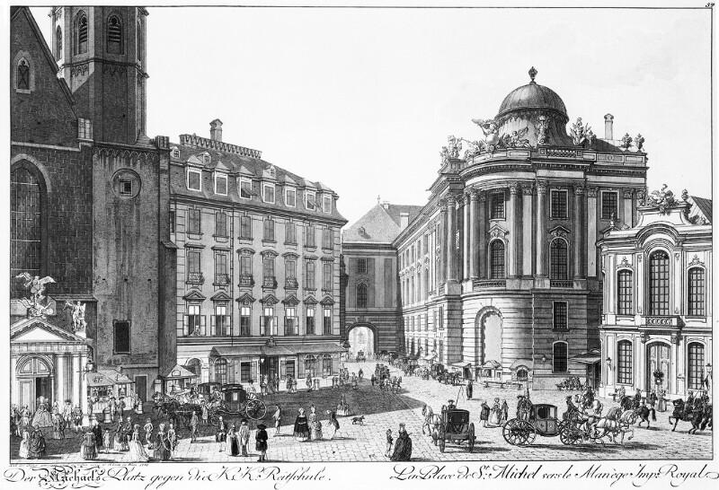Wien 1, Michaelerplatz