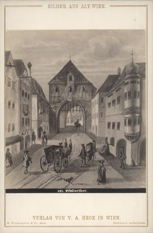 Wien 1, Pfeilertor