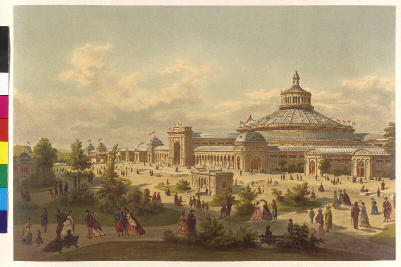 Wien 2, Rotunde und Ausstellungsgelände der Weltausstellung 1873