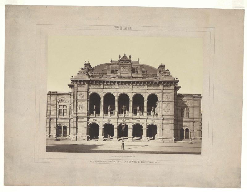 Ansicht der Wiener Staatsoper