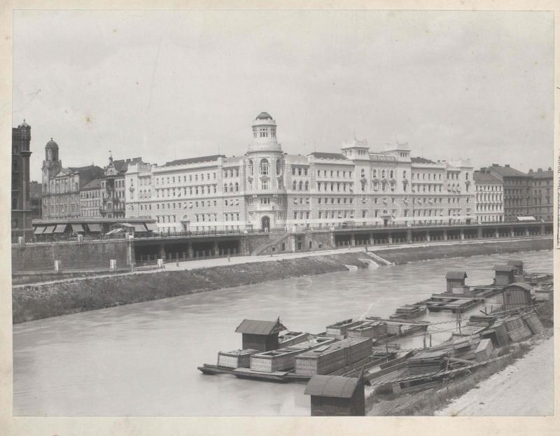Polizeigebäude in Wien