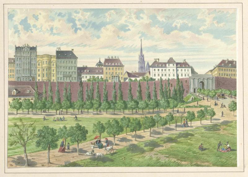 Stubentorbastei in Wien
