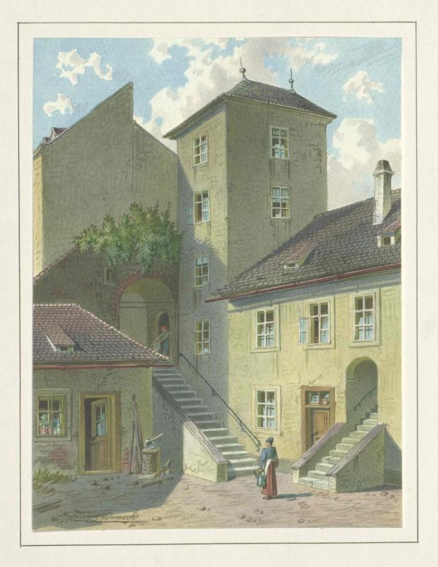 Esterhazy-Schlössel in Wien, Erdberg