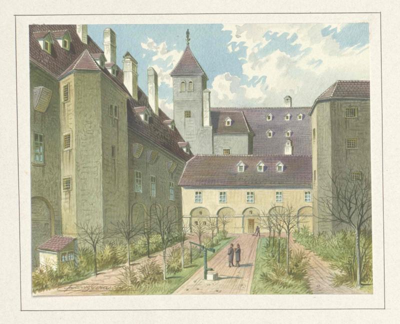 Siebenbüchnerinnenkloster in Wien