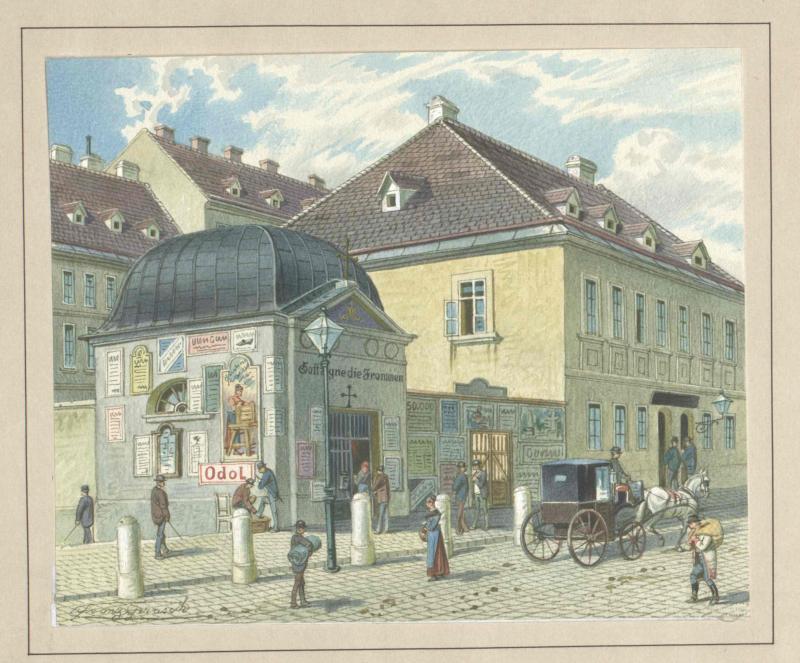 Mariahilfer Linie in Wien