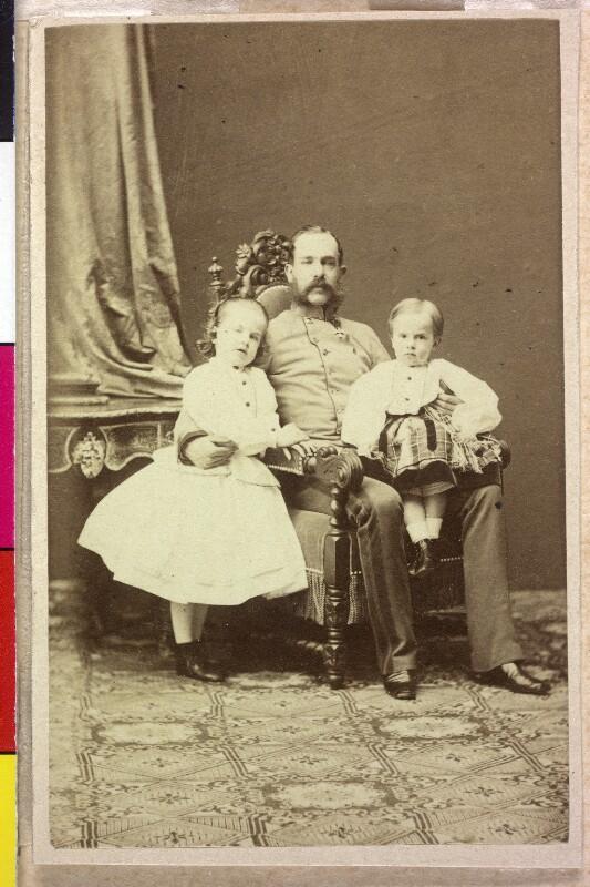 Franz Joseph I., Kaiser von Österreich mit Familie