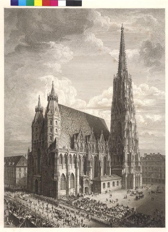 Wien - Stephansdom mit Fronleichnamsprozession