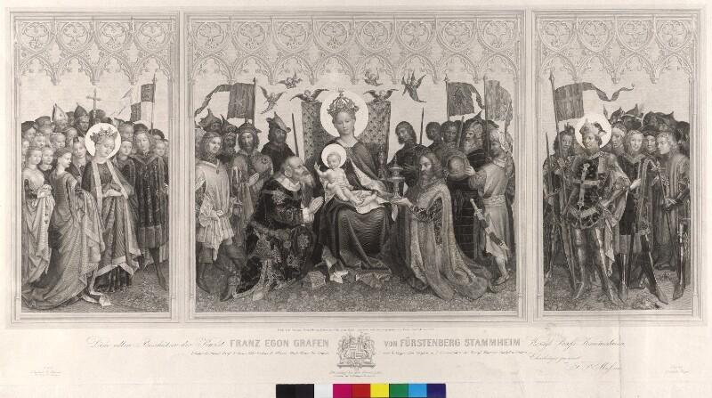 Dreikönigsaltar - Altar der Stadtpatrone von Köln