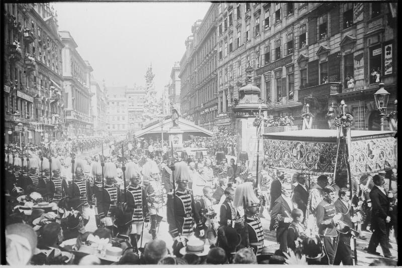 Fronleichnam in Wien