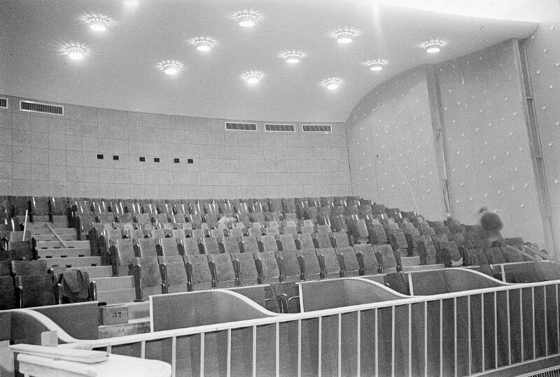 Bau und Fertigstellung des Forum Kinos