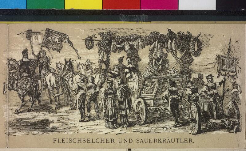 Album über den kostümierten Festzug in Wien