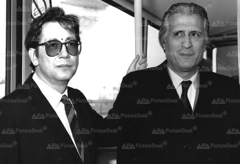 Ahmed Taleb Ibrahimi und Ferdinand Lacina
