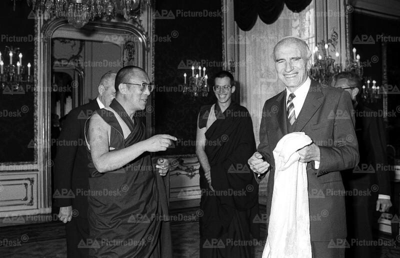 Rudolf Kirchschläger und der Dalai Lama