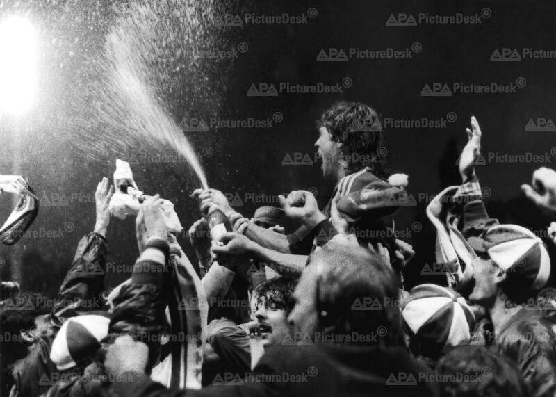 Austria Wien ist Fußballmeister 1986