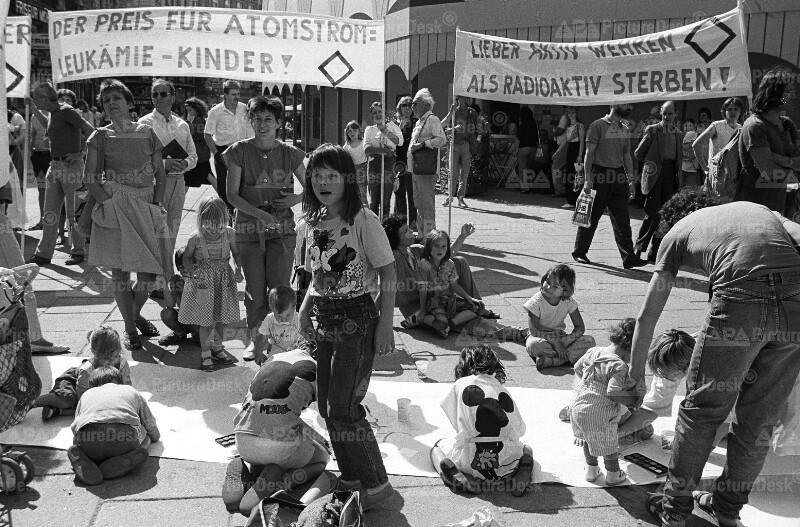 Anti-Atomkraftdemo in Wien