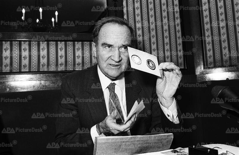 UN-Sonderbeauftragter Felix Ermacora