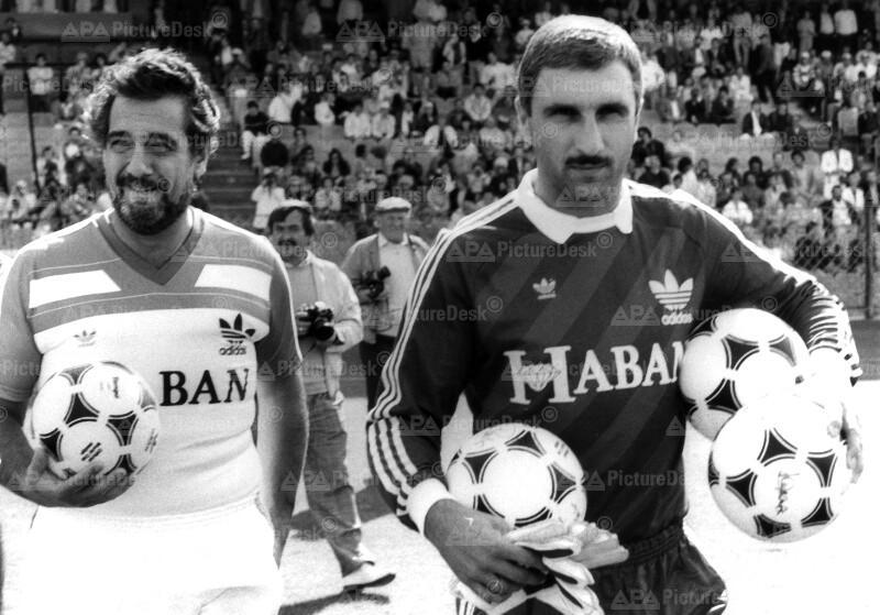 Benefiz-Fußballmatch - Placido Domingo und Hans Krankl