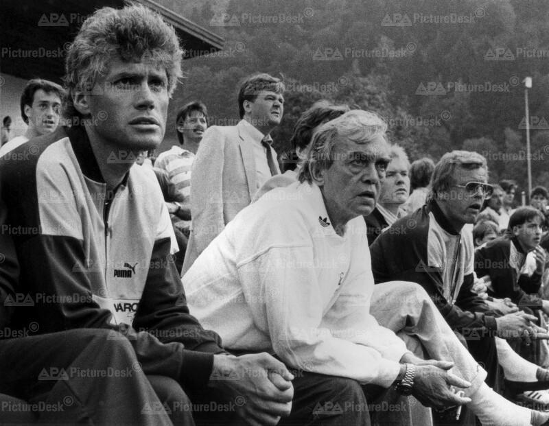 Ernst Happel beim FC Tirol