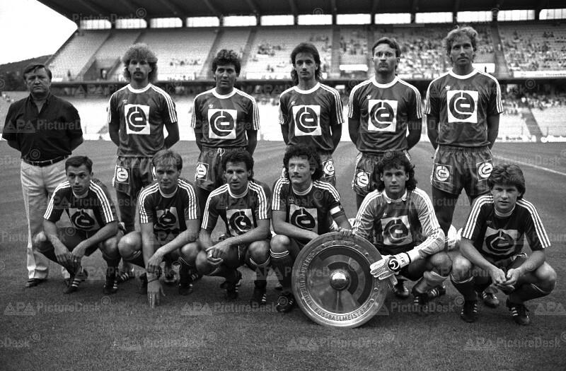 Fußbal-Bundesliga: Rapid ist Meister 1987