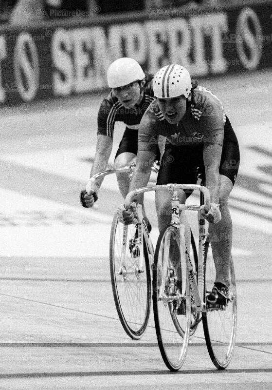 Bahn-Radweltmeisterschaften 1987 in Wien - Damen-Sprint