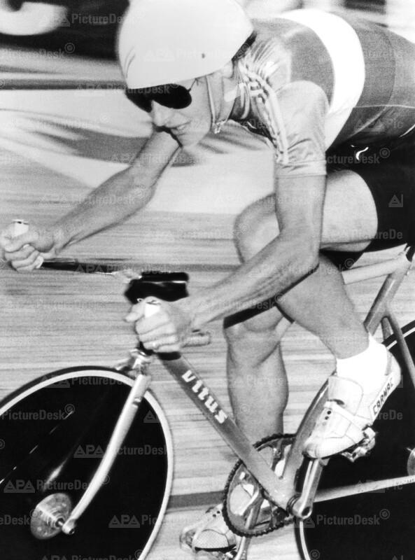 Bahn-Radweltmeisterschaften 1987 in Wien - Jeannie Longo