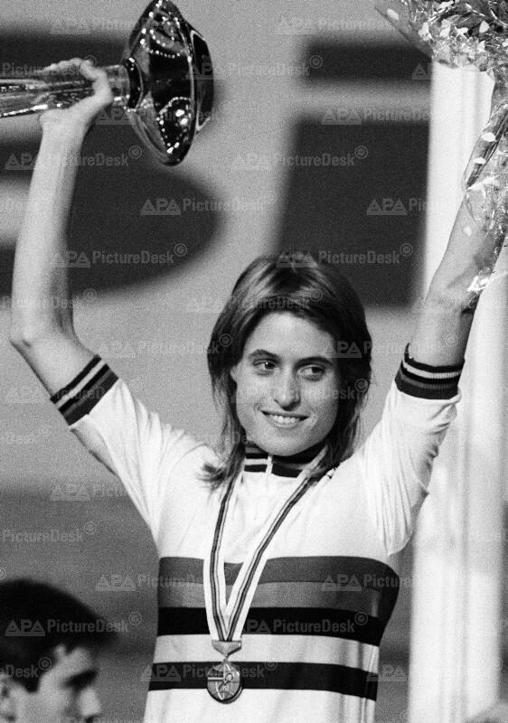 Bahn-Radweltmeisterschaften 1987 in Wien - Rebecca Twigg-Whitehead