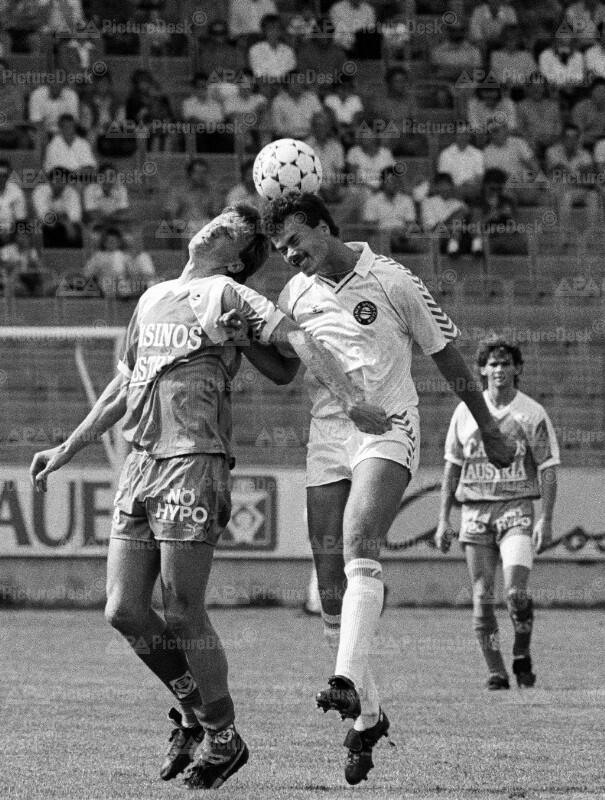 Fußball, Erste Division 1987: Spiel Sportclub vs. Admira