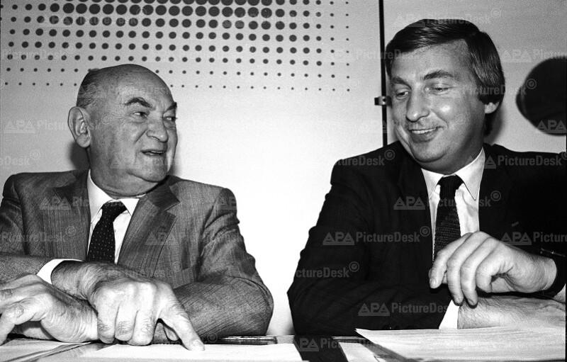 Anton Benya und Fritz Verzetnitsch