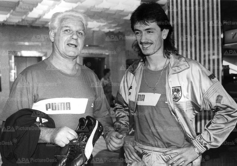 Fußball - Branko Elsner und Gerry Wilfurth
