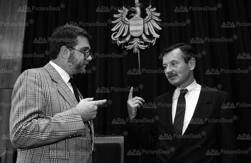 Wolfgang Gegenbaur und Günther Woratsch