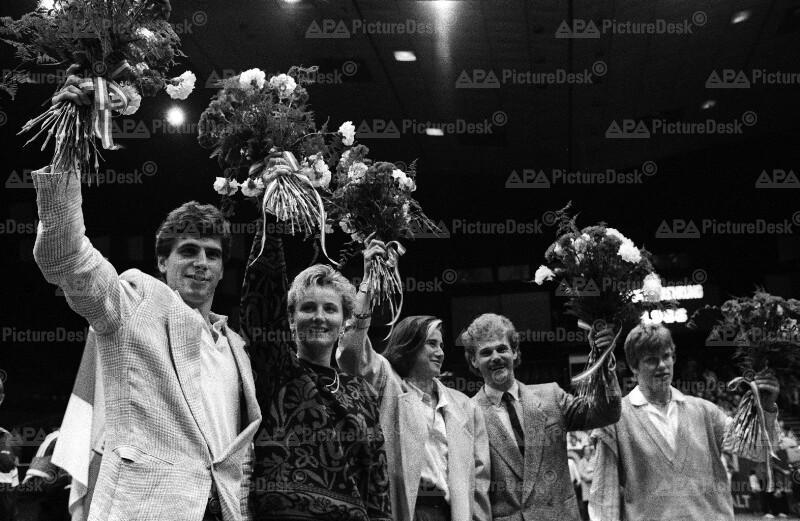 Ehrung der Sportler des Jahres 1986 in Wien