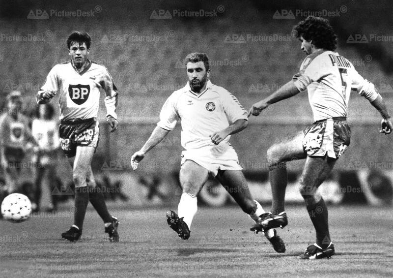 Fußball - Wiener Sportklub vs. Austria Klagenfurt 1987