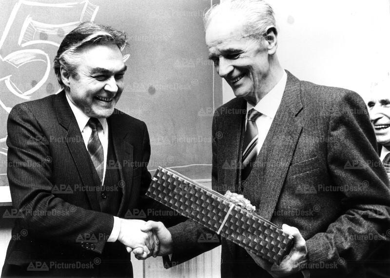 Beppo Mauhart und Franz Binder