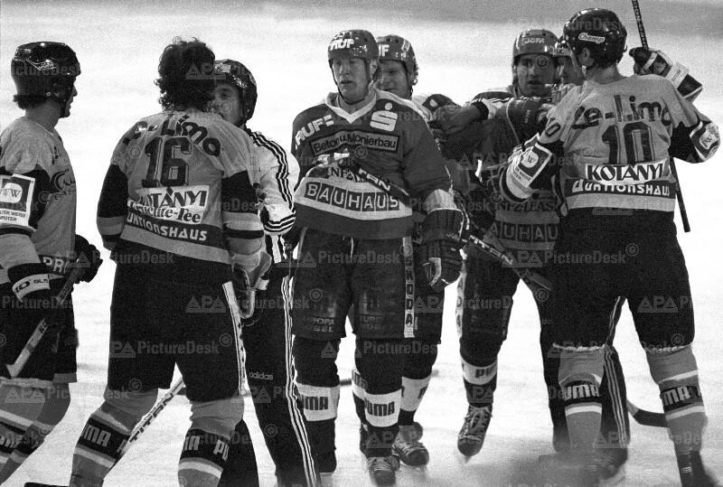 Eishockey - WEV vs. IEV 1987