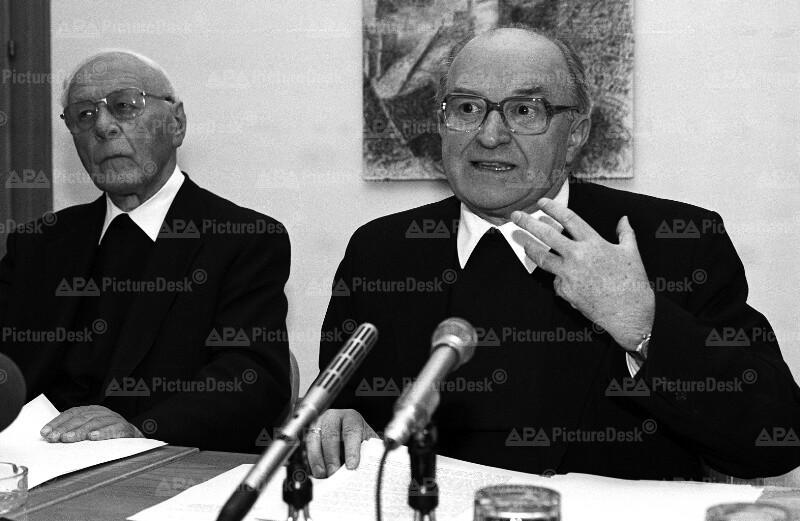 Bischofskonferenz 1987: Karl Berg und Johann Weber