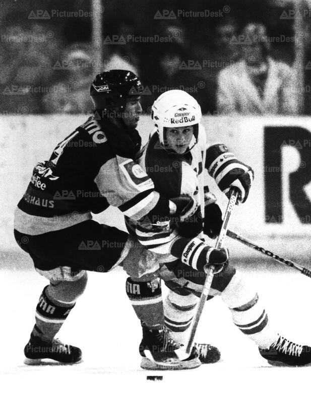Eishockey - SEC vs. WEV 1987 - Ray und Znenahlik
