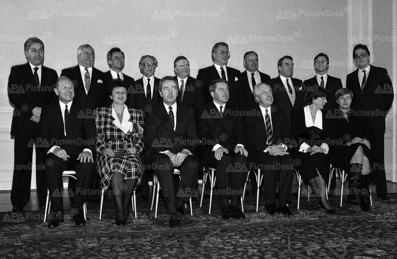 Bundesregierung 1987 - Vranitzky II
