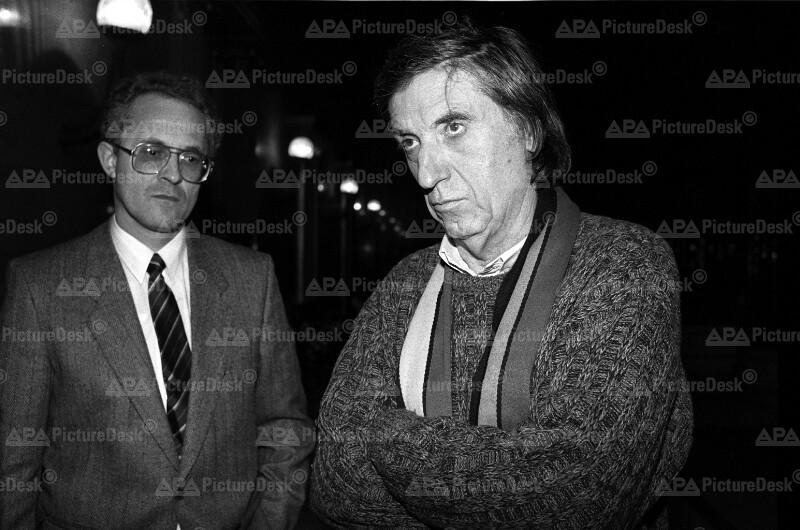 Der Grüne Parlamentsklub - Josef Buchner und Herbert Fux