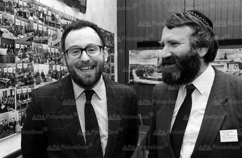 Chaim Eisenberg und Abraham Soetendorp