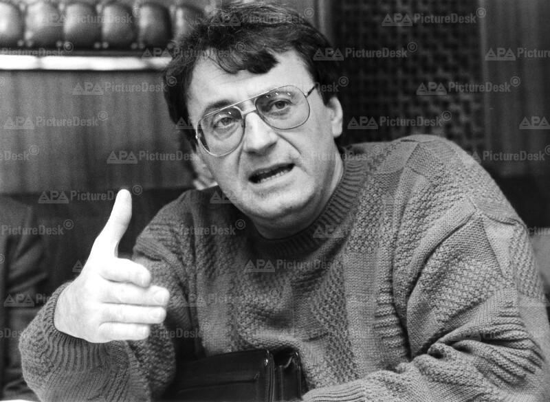 Der Grüne Nationalratsabgeordnete Manfred Srb
