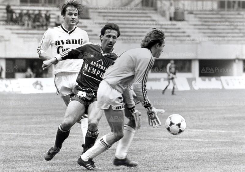 Fußballmeisterschaft 1987: Austria vs. Sportclub